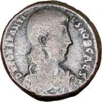 GALLUS romano César de CONSTANTIUS en moneda antigua de la ENVÍO