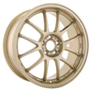 Konig Daylite 15x6.5 Sentra Civic Scion Corolla Wheels Rims Gold Lip