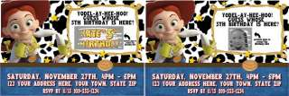 Toy Story, Woody, Jessie Party Invitations & Favors