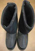 Rugged Exposure Insulated Winter Mens Black Boot Sz 10