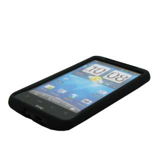 for HTC Inspire 4G Black Hard Case Snap On Cover 738435307981
