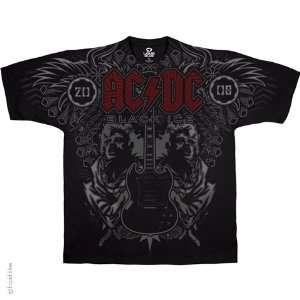 AC DC Angus Duo T Shirt (Black), 2XL