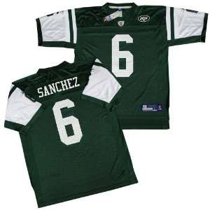 Mark Sanchez New York Jets Green Reebok Replica Jersey