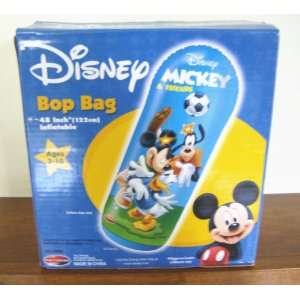 DISNEY MICKEY & FRIENDS INFLATABLE BOP BAG Sports & Outdoors