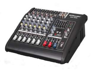 Powered Mixer Mixing Power Amp Amplifier Pa System