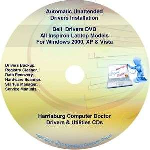 Dell Inspiron Laptop Drivers Recovery Master DVD