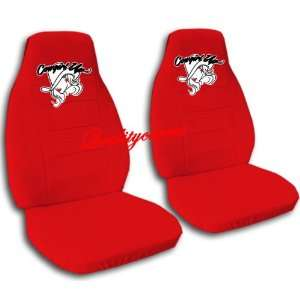 red cowgirl car seat covers for a 2003 Mini Cooper, please notify us
