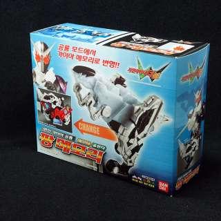 Bandai Masked Kamen Rider W Double Fang Memory Gaia Dinosaur Henshin