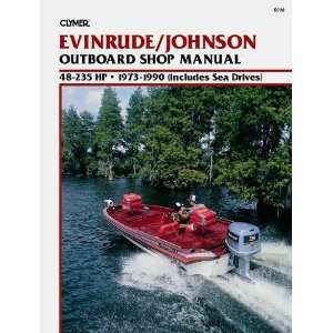 B736 Evinrude/Johnson 48 235 HP Outboards (includes Sea