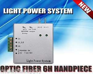 Brand New Dental Fiber Optic Handpiece Light Power control unit 6