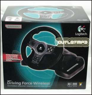 Logitech Driving Force Wireless FB Wheel PS3 & PS2