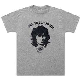 KEITH RICHARDS TO TOUGH TO DIE BAND T SHIRT NEW NWT