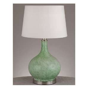 Soft Green Table Lamp