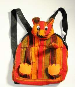 Guatemala Backpack Purse Mouse Childs New Colorful