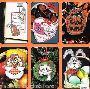 HALLOWEEN Christmas THANKSGIVING Ornaments Decor ~~ Dimensional