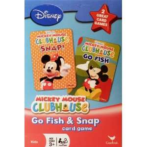 Disney Mickey Mouse Clubhouse Go Fish and Snap Card Games