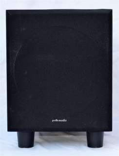 Polk Audio PSW50 Powered Subwoofer in Excellent Condition