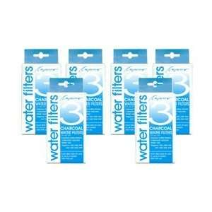 Capresso 4440.90 6PK 18 Charcoal Water Filters, 2 Year