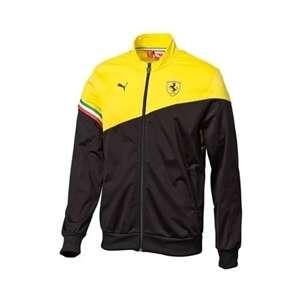Puma Ferrari Yellow/Black Track Jacket XXL