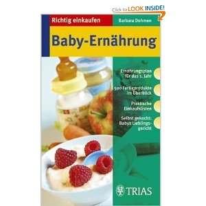 Richtig einkaufen Babyernährung (9783830431565): Books