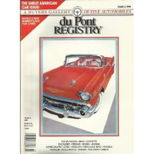 BEL AIR CONVERTIBLE 1957 A BUYERS GALLERY OF FINE AUTOMOBILES Books