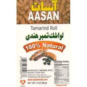 AASAN Tamarind Roll (Lavashak Tamber Hendi) 2 oz   Pack of 6: