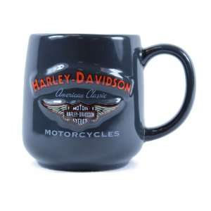 Harley Davidson Bar & Shield Logo with Wings Mug