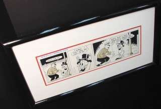 Walt Disneys Donald Duck Original Cartoon Framed