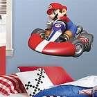 MARIO KART Wall Stickers Race Car Decals NINTENDO WII D