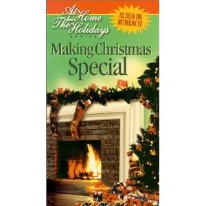Making Christmas Special [VHS] At Home for the Holi