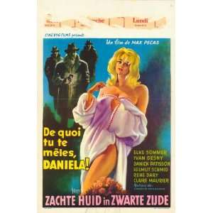 Daniela, Criminal Strip Tease Movie Poster (11 x 17 Inches   28cm x