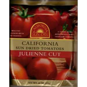 California Sun Dried Tomatoes Julienne Cut 18 Oz  Grocery