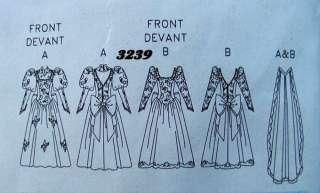 90s WEDDING BRIDE BRIDAL DRESS GOWN Fabric Pattern 6 10