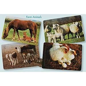 Real Life Mother & Baby Animal Puzzles   Farm Animals Toys & Games