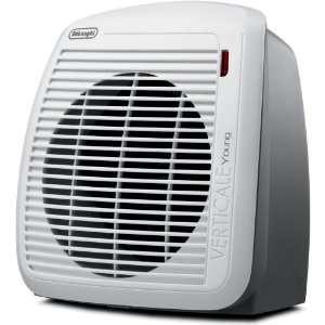DeLonghi HVY1030 1500 Watt Fan Heater   Gray with White