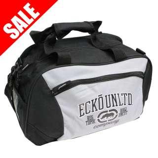ECKO UNLTD Raw Holdall Duffel Bag   Grey / Black   RRP £20