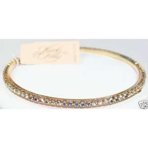 Kirks Folly Sparkling Crystal Bangle Bracelet   Aurora