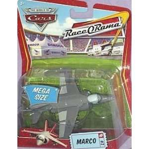 Harrier Jet Mega Size Package Mattel Race O Rama Edition Toys & Games
