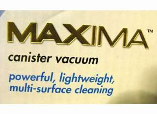 260~ EUREKA Maxima Canister VacuumMulti surface Cleaning 972