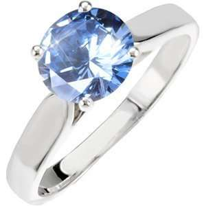 Classic Cathedral Engagement 14K Yellow/White Gold Ring