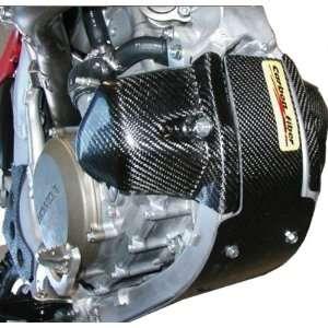 Carbon Fiber Works Engine Guard   Replaces stock left