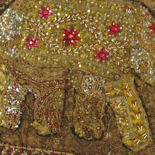 50 ELEPHANT ETHNIC INDIA WALL HANGING TAPESTRY Indian Antique Vintage
