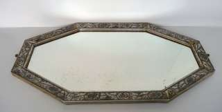 1930s Stunning & Huge Octagonal French Art Deco Wall Mirror