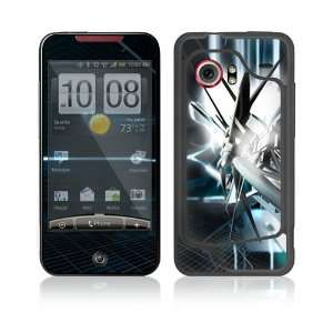 HTC Droid Incredible Decal Skin   Abstract Tech City