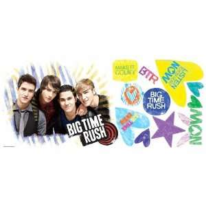Roommate RMK1579GM Big Time Rush Giant Wall Decal: Home