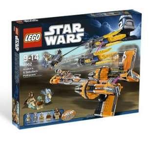 LEGO Star Wars Anakins & Sebulas Podracers 7962 673419145886