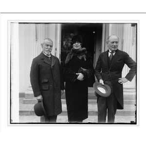 . Jusserand, Mrs. James K. Hackett, M. Teirman Gemier