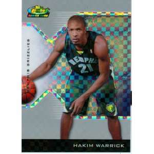 2005 Finest Hakim Warrick Rookie X Fractor Card: Sports