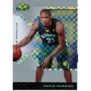 2005 Finest Hakim Warrick Rookie X Fractor Card: Sports