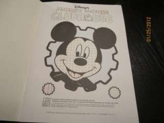 Disney Playhouse Mickey Mouse Clubhouse Paint with Water Color Book